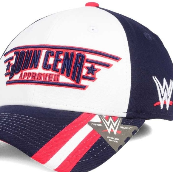 952933ccef4 WWE John Cena Approved Curved Stretch-fit Cap